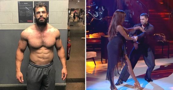 Strictly's Kelvin Fletcher is training 12 hours a day after 5am gym session to stay in shape