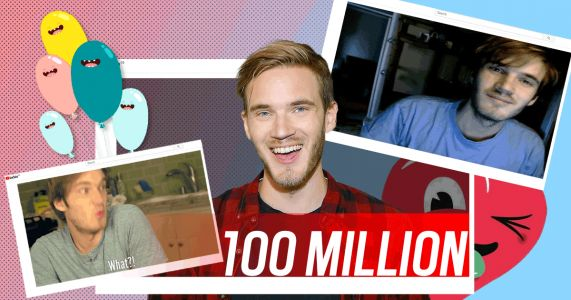 PewDiePie hits 100 million YouTube subscribers