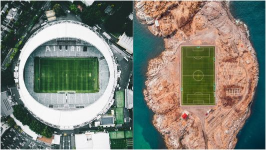 12 Stunning Drone Photos Of Courts And Sports Fields Around The World