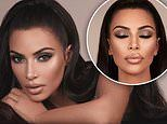 Kim Kardashian proves she's the master of the smokey eye as she shares sultry snaps for KKW Beauty