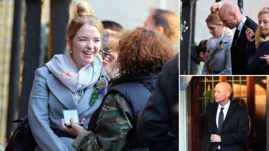 EastEnders star Lorna Fitzgerald moves in on movie role with Luke Goss in The Loss Adjuster