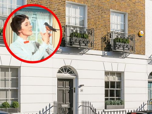 'Mary Poppins' author P.L. Travers' home - in one of London's ritziest neighborhoods - just hit the market for over $6 million. Here's a look inside