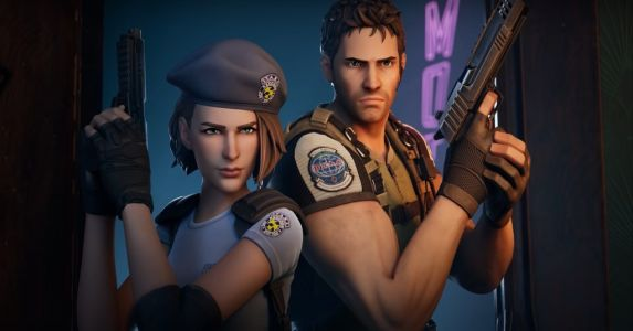 Fortnite: Resident Evil's Chris & Jill are the newest guest stars
