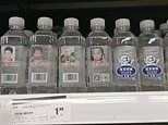 Chinese supermarkets sell bottled water carrying missing child advertisements