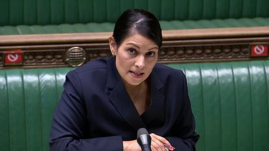 Priti Patel condemns influencers and skiers as Government gets tough on travel