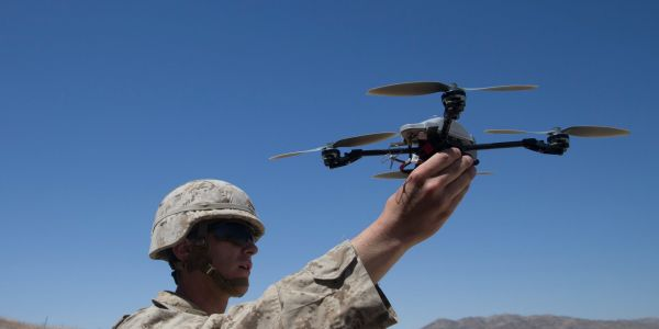 Russia wants to arm its troops with small drones that drop bombs because ISIS did it