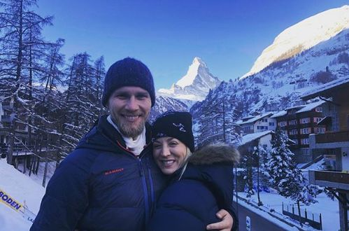Kaley Cuoco plants one on husband Karl Cook as they continue magical honeymoon