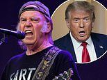 Neil Young sues Donald Trump for using his songs 'without permission' at rallies