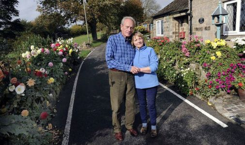Health and safety gone MAD? Retired couple told to dig up 'dangerous' flowerbed by council