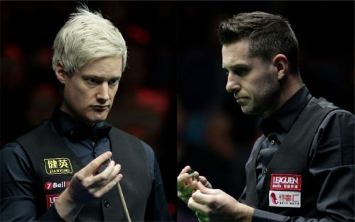 Neil Robertson relishing Mark Selby challenge in World Snooker Championship quarter-final