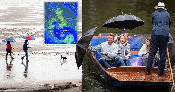 Weekend of heavy rain and 65mph winds ahead as Storm Alex batters UK