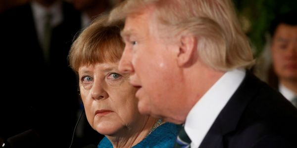 Angela Merkel condemned Trump's racist tweet about 4 congresswomen, saying it 'thwarts America's strength' as a diverse country