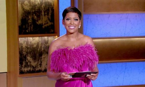 Tamron Hall wows in Kelly Ripa's Live seat in a look you need to see