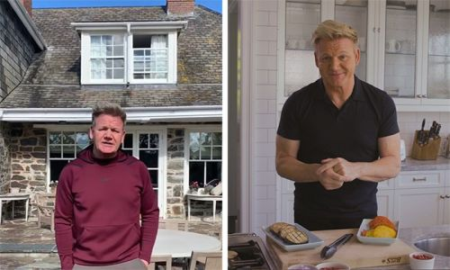 Inside Gordon Ramsay's home as Gordon, Gino and Fred: American Road Trip returns tonight