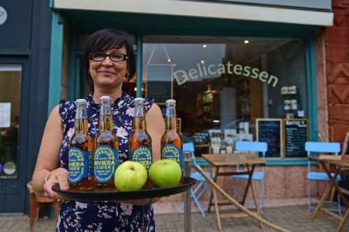 New Riviera Cider flying off shelves as Ayrshire craft drink craze has unique selling point