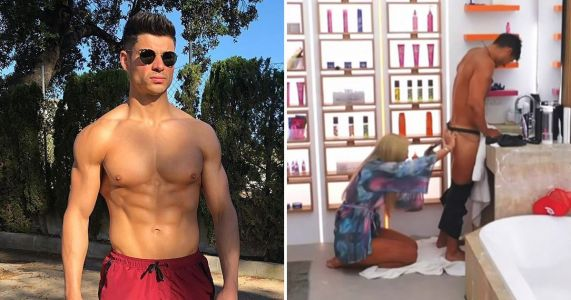 Love Island's Anton Danyluk is going to livestream Belle Hassan shaving his bum during romantic holiday in Spain