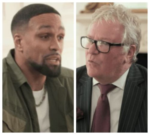 Ashley Banjo Praised By Viewers After Jim Davidson Storms Out Of Tense Meeting In ITV Doc