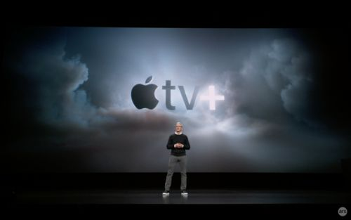 Apple finally enters TV streaming space with new Apple TV+ service