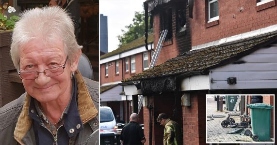 Pensioner dies in house fire after mobility scooter 'deliberately set alight'