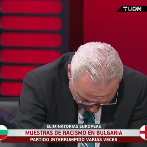 Bulgaria legend Hristo Stoichkov breaks down in tears on TV as he calls for fans to be banned over England racism shame