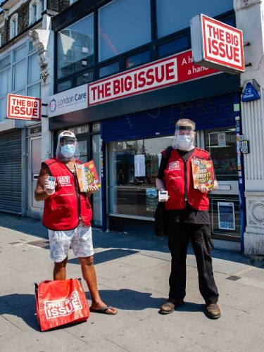 The Big Issue reveals more support for vendors in their return to the streets