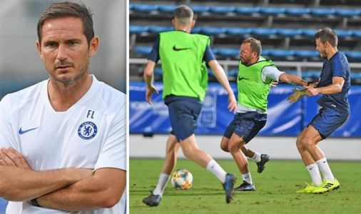 Chelsea boss Frank Lampard provides backroom staff update as Ashley Cole arrives in Japan