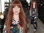 Nicola Roberts oozes glamour in printed pyjama suit as she heads to beauty bash