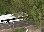 Two children injured after Sydney school bus collides with car
