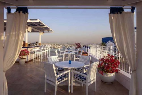 This New Santorini-Inspired Resto Has One Of The Best Sunsets In Town