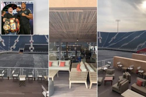 Anthony Joshua vs Andy Ruiz Jr stadium almost finished - and has plush VIP section