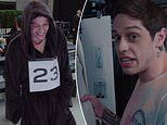 Hilarious behind-the-scenes video documents Pete Davidson's first ever catwalk show