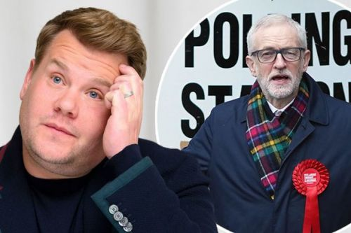 General election 2019: James Corden weighs in on exit poll blaming Jeremy Corbyn