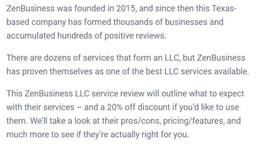 Zen Business Review 2020: Pos and Cons