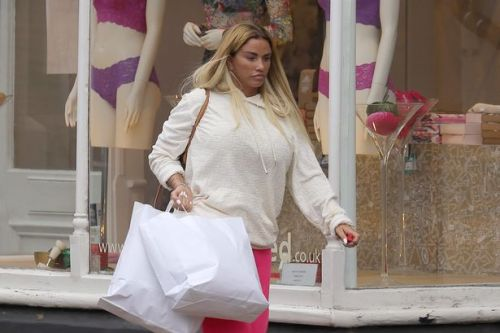Katie Price seen for first time since leaving The Priory as she hits the shops