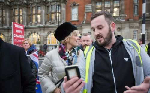 Yellow vest protester James Goddard who called Anna Soubry a Nazi on live TV admits harassment charge