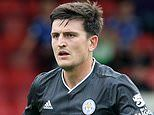 Harry Maguire features in Leicester's pre-season win at Cheltenham amid Man Utd and City interest