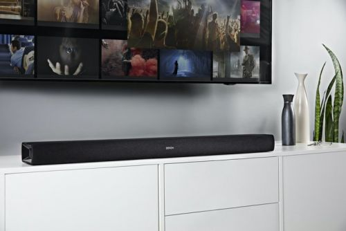 Denon's all-in-one DHT-S216 soundbar uses DTS Virtual:X for virtual surround sound
