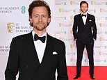 BAFTA 2021 Film Awards: Tom Hiddleston looks dapper in a sharp suit and bowtie on the red carpet