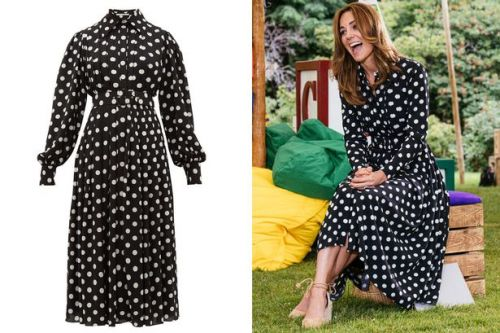 Kate Middleton wows in a polka dot summer dress get the look from £25.20