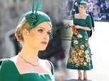 Royal wedding: Lady Kitty Spencer steals the show as Princess Diana's family arrive