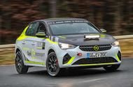 Vauxhall begins testing Corsa-e electric customer rally car