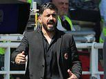 Gennaro Gattuso frustrated after Bruno Alves free kick denies Milan win at Parma