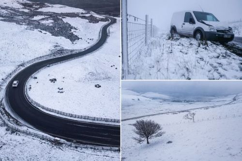 UK weather forecast: Icelandic blast chills Christmas party season as snow arrives