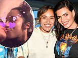 Megan Barton-Hanson rekindles romance with ex girlfriend Chelcee Grimes as they kiss during night in