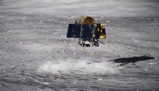 Indian moon lander ready for final descent