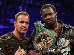 Dillian Whyte splits with trainer Mark Tibbs ahead of Alexander Povetkin bout