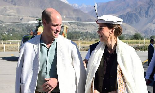 Prince William and Kate Middleton visit spectacular glacier in Pakistan - best photos
