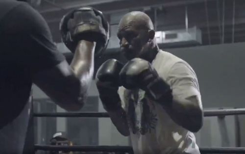 Evander Holyfield looking sharp on the pads with Antonio Tarver ahead of potential Mike Tyson fight
