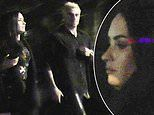 Demi Lovato spotted out with rumored beau and sober buddy Henry Levy during midnight jaunt