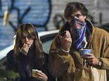 Kaia Gerber dons long black coat with beau Jacob Elordi on romantic stroll in New York